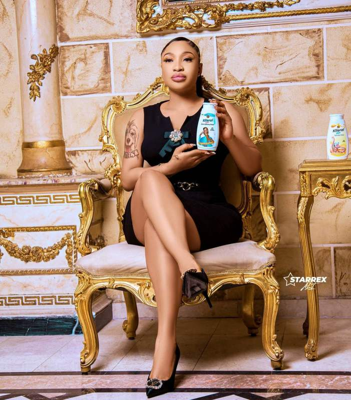 Tonto Dikeh becomes face of skincare product