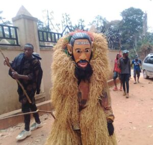 Indigenous rapper Phyno honored with a look-alike masquerade