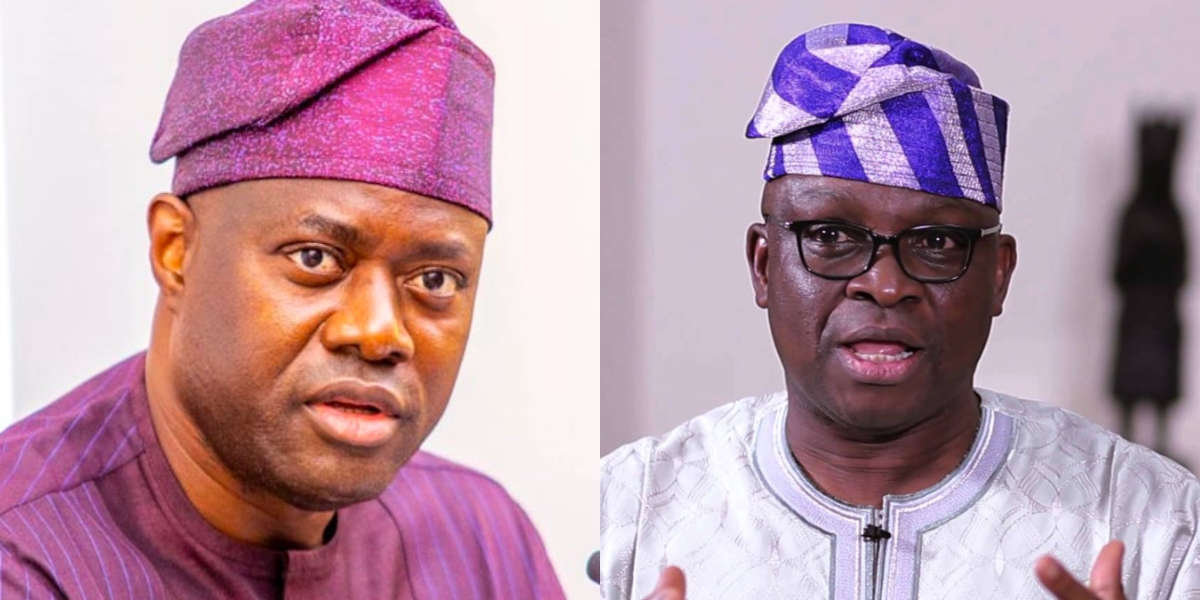 PDP moves to end rift between Ayodele Fayose and Seyi Makinde