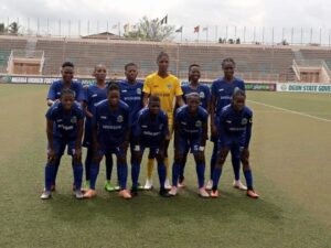 Players of Bayelsa Queens