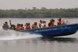 File copy of passenger speed boat