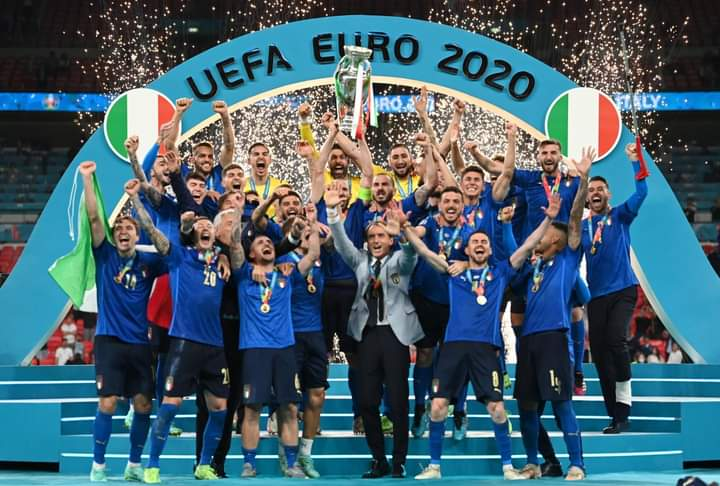 Euro 2020 Finals: Italy Emerges European Champions For The First Time Since 1968