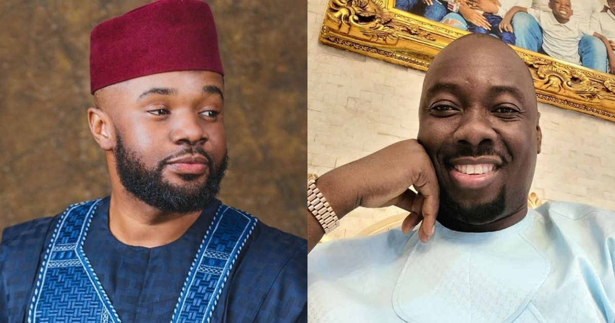 Comedian William Uchemba Pays Tribute To Obi Cubana's Mother