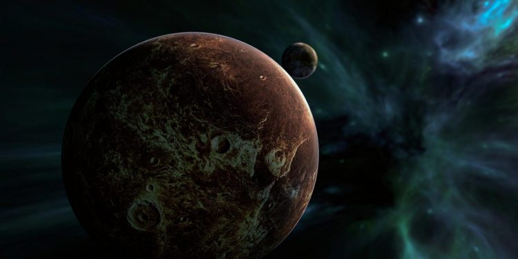 A free-floating planet depicted by an artist.