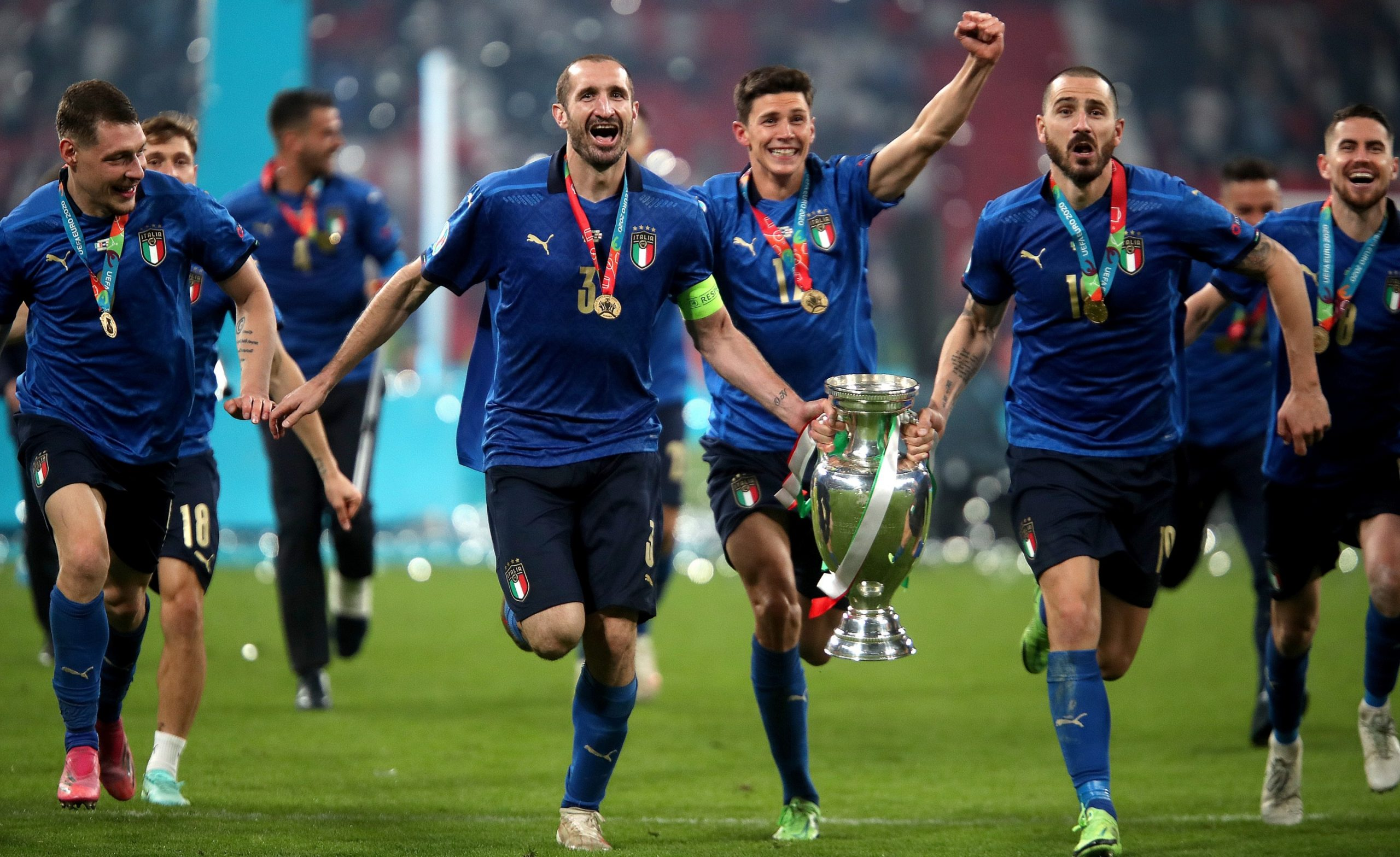 EURO2020: Italy Emerges European Champions For The First Time Since 1968