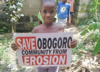 A child from Ogbogoro Community
