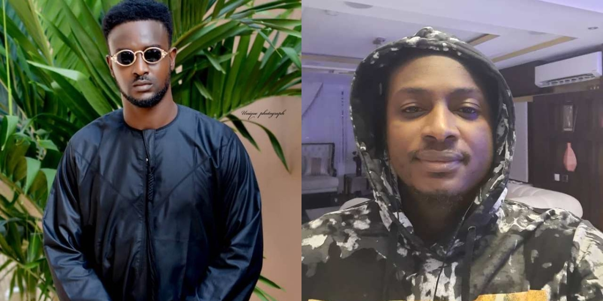 Actress Annie's Brother, Wisdom Slams 2baba's Brother, Charles for calling Out His Mother